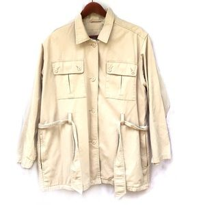 Timberland Mens Coat Jacket 100% Cotton Small